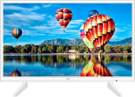 Фото - Телевизор 24 LEFF 24H111T белый 1366x768 60 Гц Wi-Fi Smart TV VGA HDMI USB CI+ телевизор leff 32h111t белый