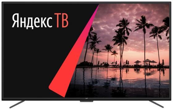 Фото - Телевизор 50 LEFF 50U620S черный 3840x2160 60 Гц Wi-Fi Smart TV 3 х HDMI 2 х USB RJ-45 Bluetooth CI+ телевизор leff 32h111t белый