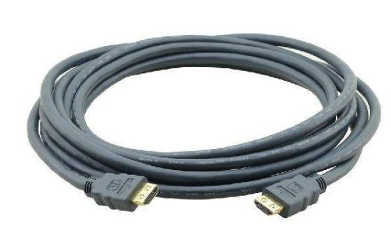 Фото - Кабель HDMI 4.6м Kramer C-HM/HM/ETH-15 круглый черный 97-01213015 кабель hdmi 3м kramer c hm hm flat eth 10 плоский черный 97 01014010