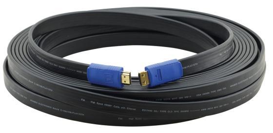 Фото - Кабель HDMI 3м Kramer C-HM/HM/FLAT/ETH-10 плоский черный 97-01014010 кабель hdmi 3м kramer c hm hm flat eth 10 плоский черный 97 01014010