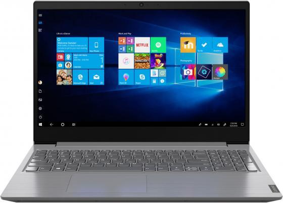 Фото - Ноутбук Lenovo V15 G1 IML 15.6 1920x1080 Intel Core i3-10110U SSD 256 Gb 8Gb Intel UHD Graphics серый Windows 10 Professional 82NB001ERU ноутбук lenovo thinkpad e15 intel core i7 10510u 1800mhz 15 6 1920x1080 8gb 512gb ssd intel uhd graphics windows 10 pro 20rd0019rt черный