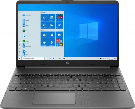Ноутбук HP Laptop 15s-eq1320ur 15.6 1920x1080 AMD Athlon-Gold 3150U SSD 128 Gb 4Gb AMD Radeon Graphics серый Windows 10 Home 3B2W8EA