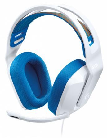 Фото - Игровая гарнитура проводная Logitech G335 Wired Gaming Headset белый 981-001018 игровая