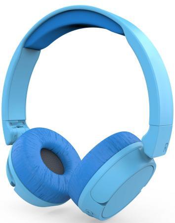 Наушники HIPER Беспроводные наушники HIPER LUCKY ZTX1 Синий наушники sony mdr zx310ap синий