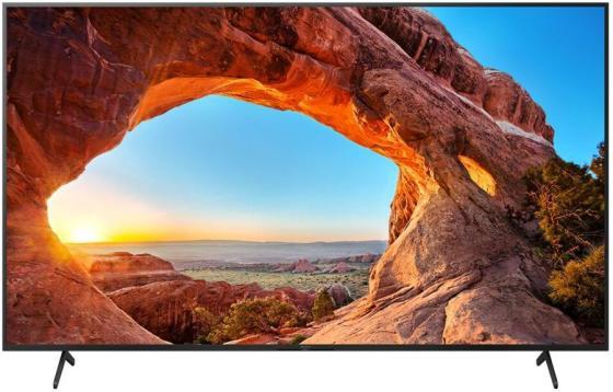 Фото - Телевизор LED 75 SONY KD75X85TJ черный 3840x2160 100 Гц Wi-Fi Smart TV 4 х HDMI 2 х USB RJ-45 Bluetooth CI+ телевизор led 77 lg oled77gxrla черный 3840x2160 50 гц wi fi smart tv 4 х hdmi rj 45 ci