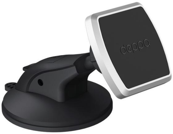 Deppa Автомобильный держатель Mage One для смартфонов, магнитный, крепление на приборную панель и лобовое. автомобильный держатель deppa mage mount для смартфонов магнитный крепление на приборную панель черный