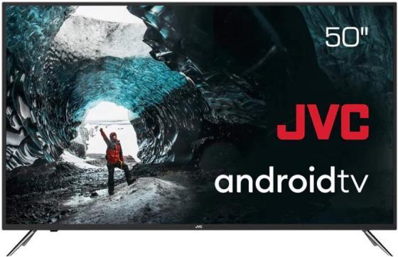 Фото - Телевизор LED 50 JVC LT-50M790 черный 3840x2160 60 Гц Wi-Fi Smart TV 3 х HDMI 2 х USB RJ-45 CI+ телевизор led 77 lg oled77gxrla черный 3840x2160 50 гц wi fi smart tv 4 х hdmi rj 45 ci