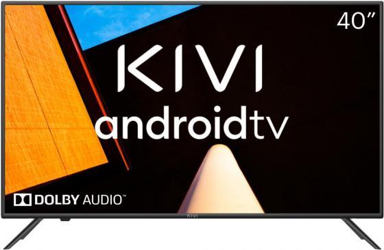 Фото - Телевизор LED 40 Kivi 40F710KB серый 1920x1080 50 Гц Wi-Fi Smart TV 3 х HDMI 2 х USB RJ-45 Bluetooth телевизор 49 lg 49lv761h черный 1920x1080 50 гц smart tv wi fi hdmi usb rj 45 bluetooth widi