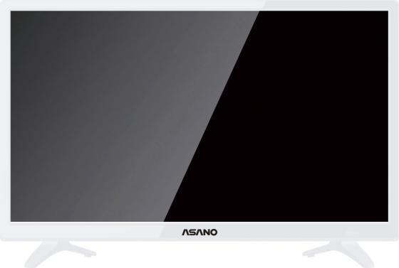 Фото - Телевизор LED 24 Asano 24LH1011T белый 1366x768 60 Гц VGA HDMI USB SCART CI+ телевизор 32 jvc lt 32m350 черный 1366x768 60 гц 2 х hdmi vga usb