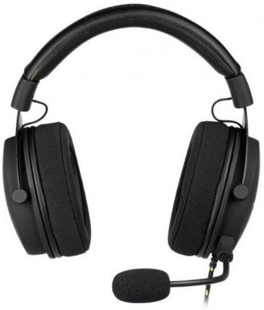Фото - Игровая гарнитура Xtrfy H2 чёрная (53 мм, микрофон, 1 или 2 3.5 мм jack) игровая
