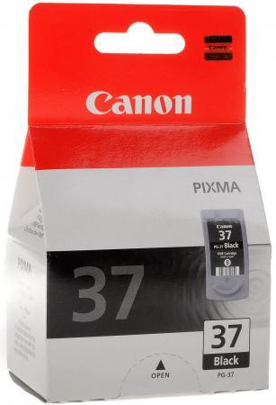Картридж Canon PG-37BK для Pixma iP1800/iP1900/iP2500/iP2600/MP140/MP190/MP210/MP220/MP470 черный cl 38 ink cartridge for canon cl38 pixma mp140 mp190 mp210 mp220 mp470 mx300 mx310 ip1800 ip1900 ip2500 ip2600