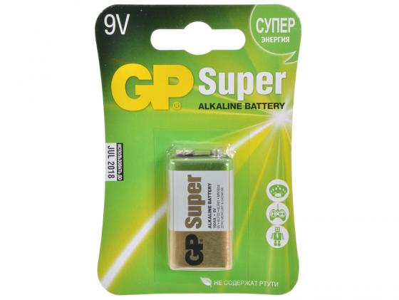 Батарейка GP Super 1604А-5CR1 6LF22 1 шт батарейка крона gp super alkaline 1604а 6lf22 bc1