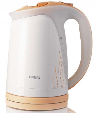Чайник Philips HD 4681/55 2400 Вт 1.7 л бело-желтый philips hp8660 бело розовый