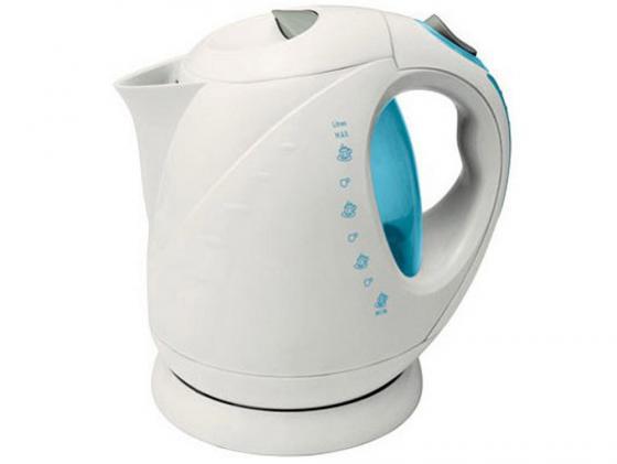 Чайник VES Electric 1008 2000 Вт 2 л пластик белый чайник ves ves 2000