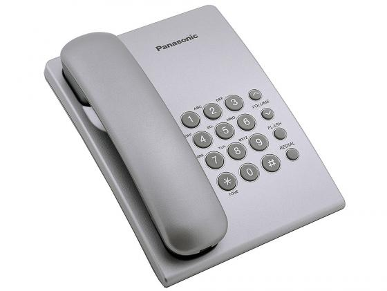 Телефон Panasonic KX-TS2350RUS серебристый телефон panasonic kx dt546rub черный