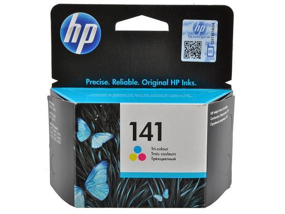 Картридж HP CB337HE №141 для Photosmart D5363 D4263 C4283 C5283 OJ5783 цветной 170стр картридж с чернилами top color photosmart c5283 140 141 hp photosmart c5283 tc143 141xl 140xl