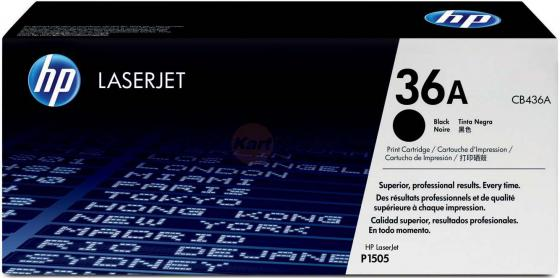 Картридж HP CB436A №36А для LJ P1505 2000стр lcl cb436a 436a cb436 436 36a 36 4 pack black toner cartridge compatible for hp p1503 p1504 p1505 p1506 p1503n p1504n