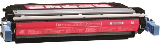 Картридж HP CB403A пурпурный для CLJ CP4005 7500стр тонер картридж hp ce743a пурпурный для hp clj cp5225 7300стр