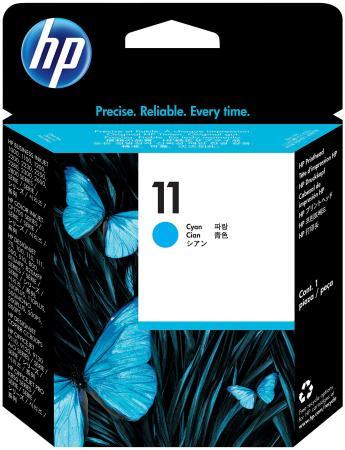Печатающая головка HP C4811A № 11 СР 1700/2600/1100 officejet 9110/20/30 голубой печатающая головка hp 11 c4811a