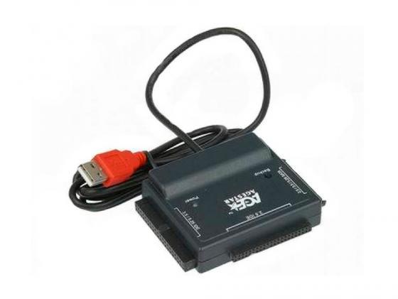 Кабель-переходник USB2.0->PATA/SATA Agestar FUBCP с блоком питания цена и фото