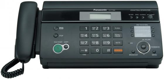 Факс Panasonic KX-FT988RU-B термобумага цена 2017