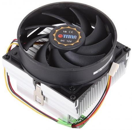 Кулер для процессора Titan Data Cooler DC-K8M925BR2 Socket 754/S939/AM2 Phenom ready 109W 93x93 Ball PWM алюм+медь digital dc motor pwm speed control switch governor 12 24v 5a high efficiency
