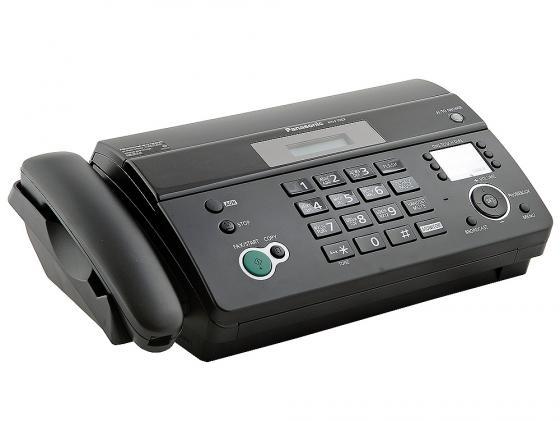 Факс Panasonic KX-FT982RUB термобумага черный цена и фото