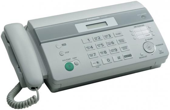 Факс Panasonic KX-FT982RUW термобумага белый факс panasonic kx fl423ruw