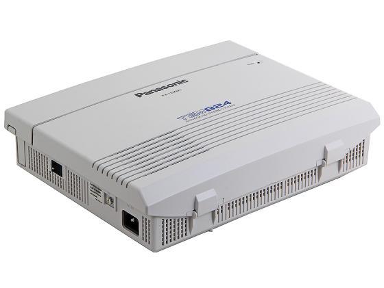 АТС Panasonic KX-TEM824RU аналоговая, 6 внешних и 16 внутренних линий (предельная ёмкость 8 внешних и 24 внутренних линий) атс