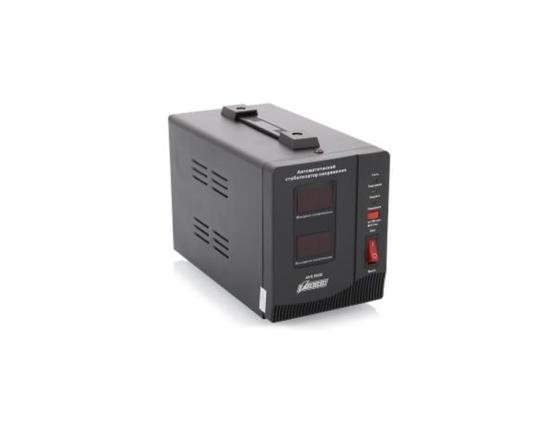 Стабилизатор напряжения Powerman AVS-1500D 1500VA черный ибп стабилизатор powerman avs 500d черный