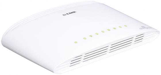 коммутатор сетевой d link dgs 1008d Коммутатор D-LINK DGS-1008D неуправляемый 8 портов 10/100/1000Mbps