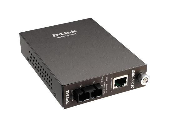 Фото - Медиаконвертер D-LINK DMC-530SC медиаконвертер d link dmc 515sc
