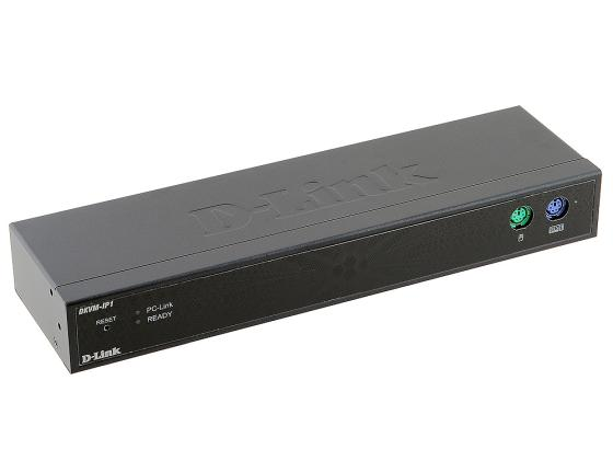 Переключатель KVM сетевой D-LINK DKVM-IP1, 1xConsole, 1xPC, 1x10/100Mbps, 1xUSB 2.0, 1xRS-232 d link ip stb dib 120 купить