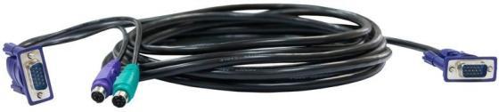 Набор кабелей D-LINK DKVM-CB3 2xPS/2 1xVGA 3м цены онлайн