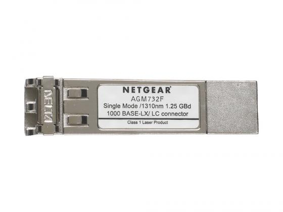 Netgear AGM732F 1000Base-LX Fibre SFP GBIC модуль for NETGEAR GSM7312, GSM7324, GSM7224, GS724T, GS748T, FSM7326P все цены