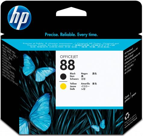 Картридж HP C9381A № 88 inkjet Officejet Pro K550/ K550dtn/ K550dtwn печатующая головка черный желтый картридж для принтера hp c8767he 130 black inkjet print cartridge