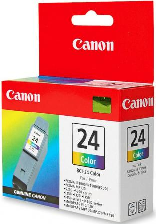 Картридж Canon BCI-24 Color для i250 i350 i450 i470D двойная упаковка цветной print head qy6 0044 original refurbished printhead for canon 320i 350i i250 i255 i320 i350 i355 ip1000 printer accessories