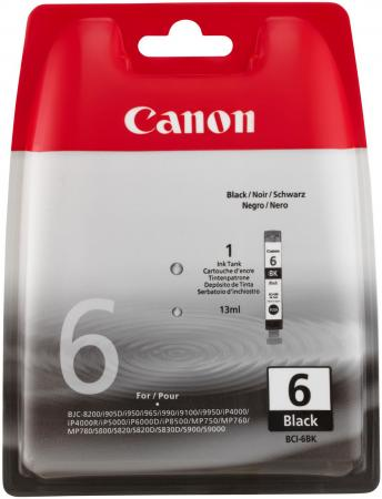 Картридж Canon BCI-6Bk для Canon S800 чёрный