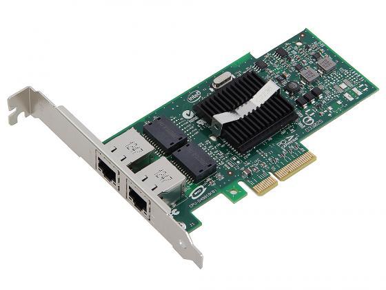 Сетевой адаптер Intel EXPI9402PTBLK PRO/1000 PT Dual Port Server Adapter PCI Express Intel I/OAT intel expi9402ptblk pro 1000 pt dual port server adapter network 2 x rj45 pci express