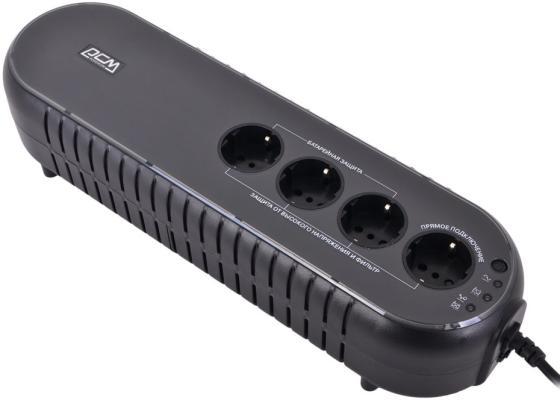 ИБП Powercom WOW-850U 850VA ибп powercom spd 850u spider 850va 510w usb avr rj11 rj45 4 4 euro output
