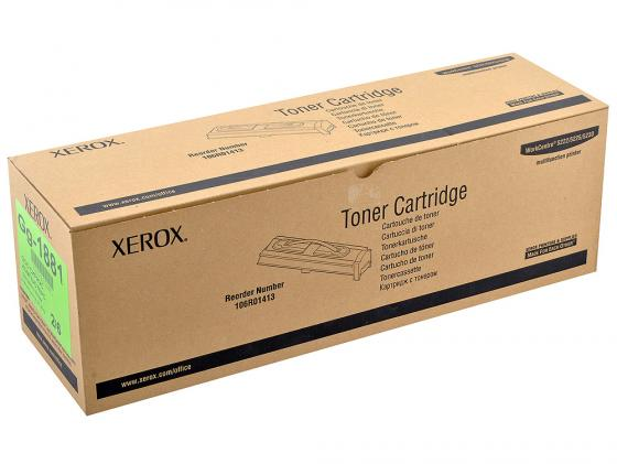 Тонер-картридж Xerox 106R01413 для WorkCenter 5222 Чёрный 20000стр картридж xerox 106r01305 для workcenter 5225 5230 5225a 5230a