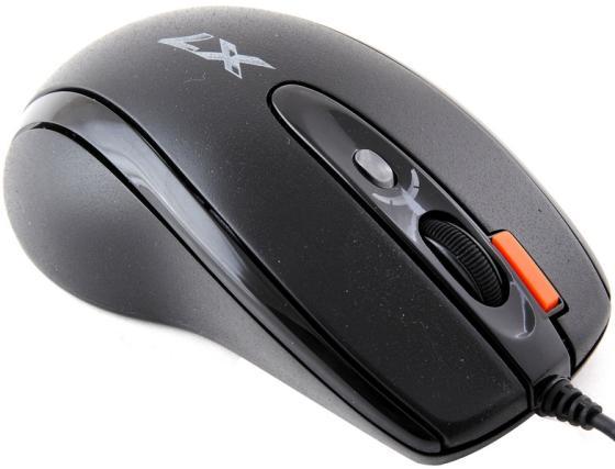 лучшая цена Мышь проводная A4TECH X-718BK чёрный USB