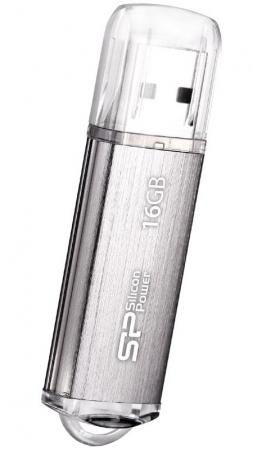 Флешка USB 16Gb Silicon Power Ultima II SP016GBUF2M01V1S серебристый