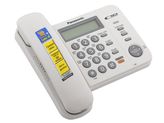 Телефон Panasonic KX-TS2358RUW белый