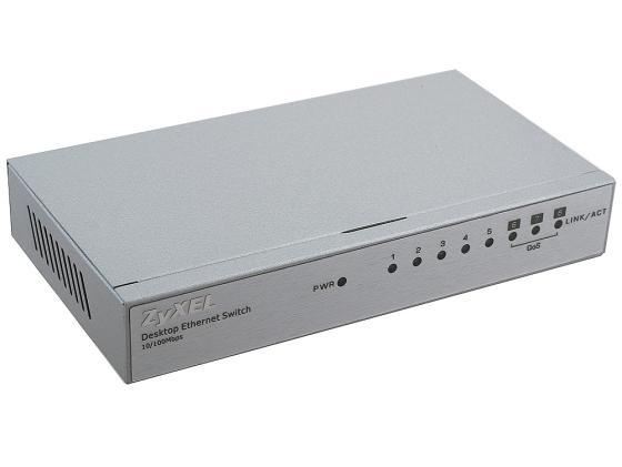 Коммутатор ZyXEL ES-108A, 8-ports 10/100Mbps коммутатор zyxel es 105a