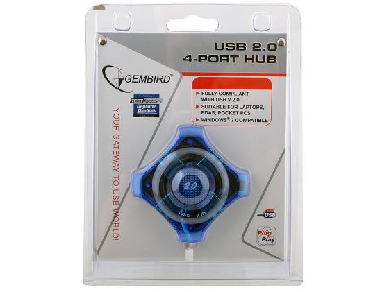 Концентратор USB GEMBIRD UHB-C224 4 порта все цены