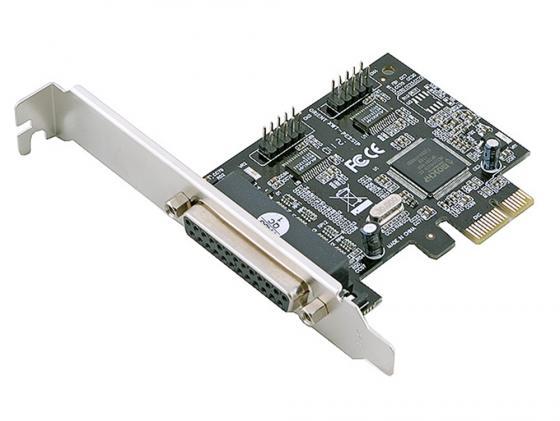 Контроллер PCI-E Orient XWT-PE2S1P 2xCOM 1xLPT Retail контроллер pci e 2 com купить минск
