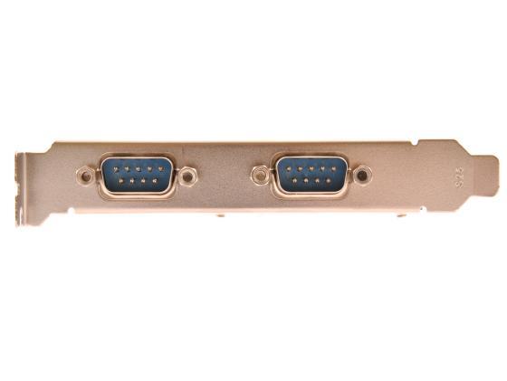Контроллер PCI-E Orient XWT-PE2S 2xCOM Retail цена