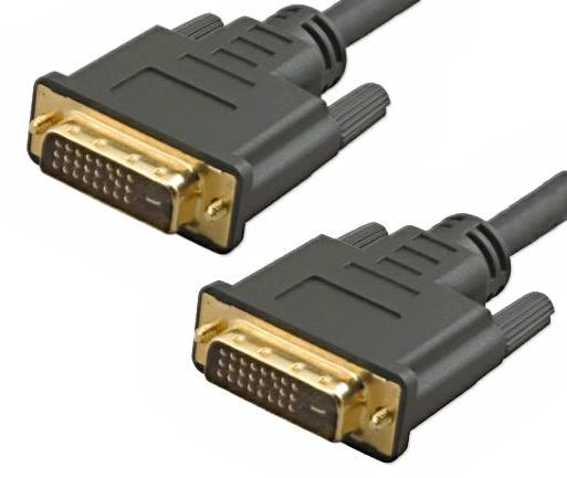 Кабель для монитора 5bites APC-096-030 DVI M-DVI M -зол.разъемы ферр.кольца 3м
