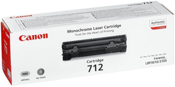 Картридж Canon 712 для LBP3010 LBP3100 картридж nv print nvp 712 для canon lbp3010 3020 1500 стр